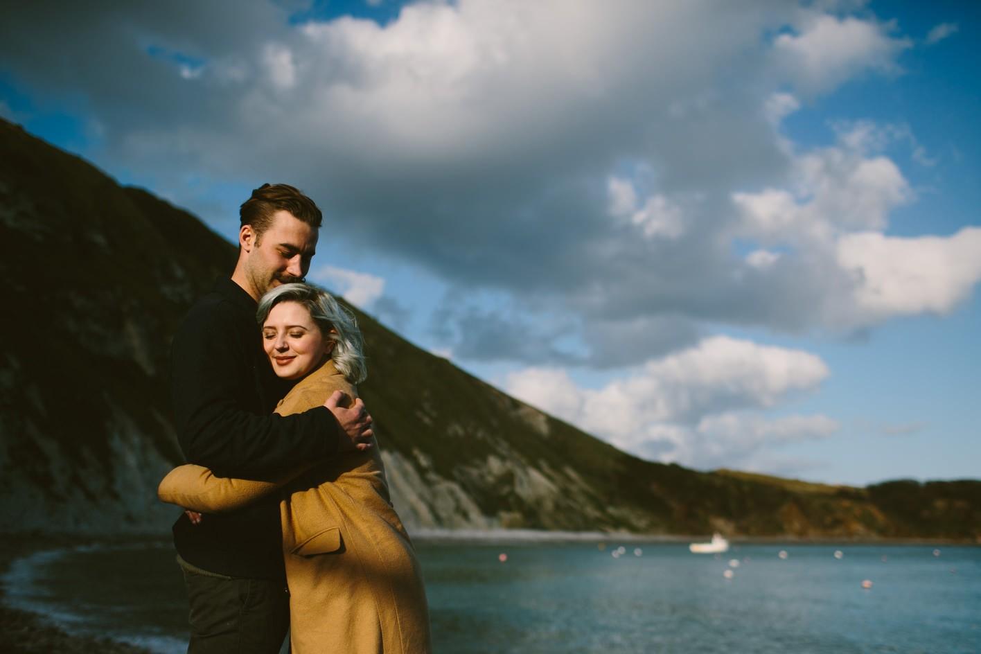 Lulworth Cove Engagement Shoot