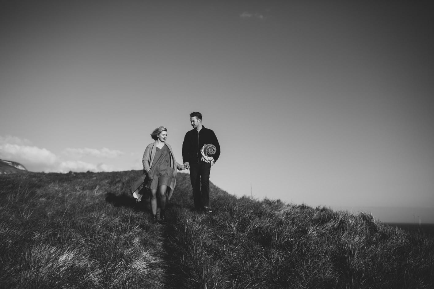 a walk along the dorset cliff tips