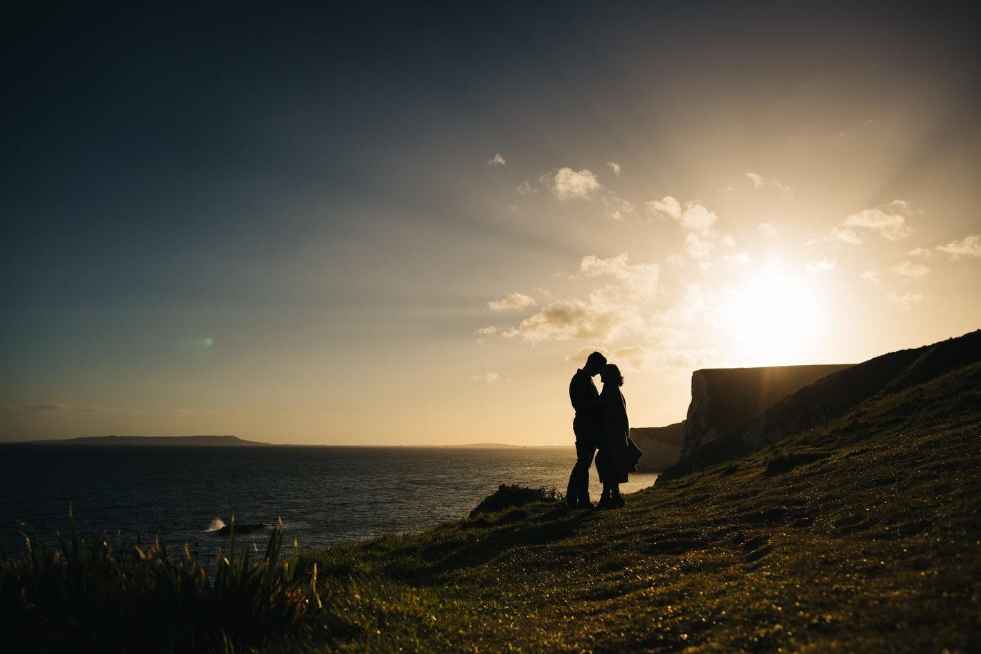 Dorset engagement shoot