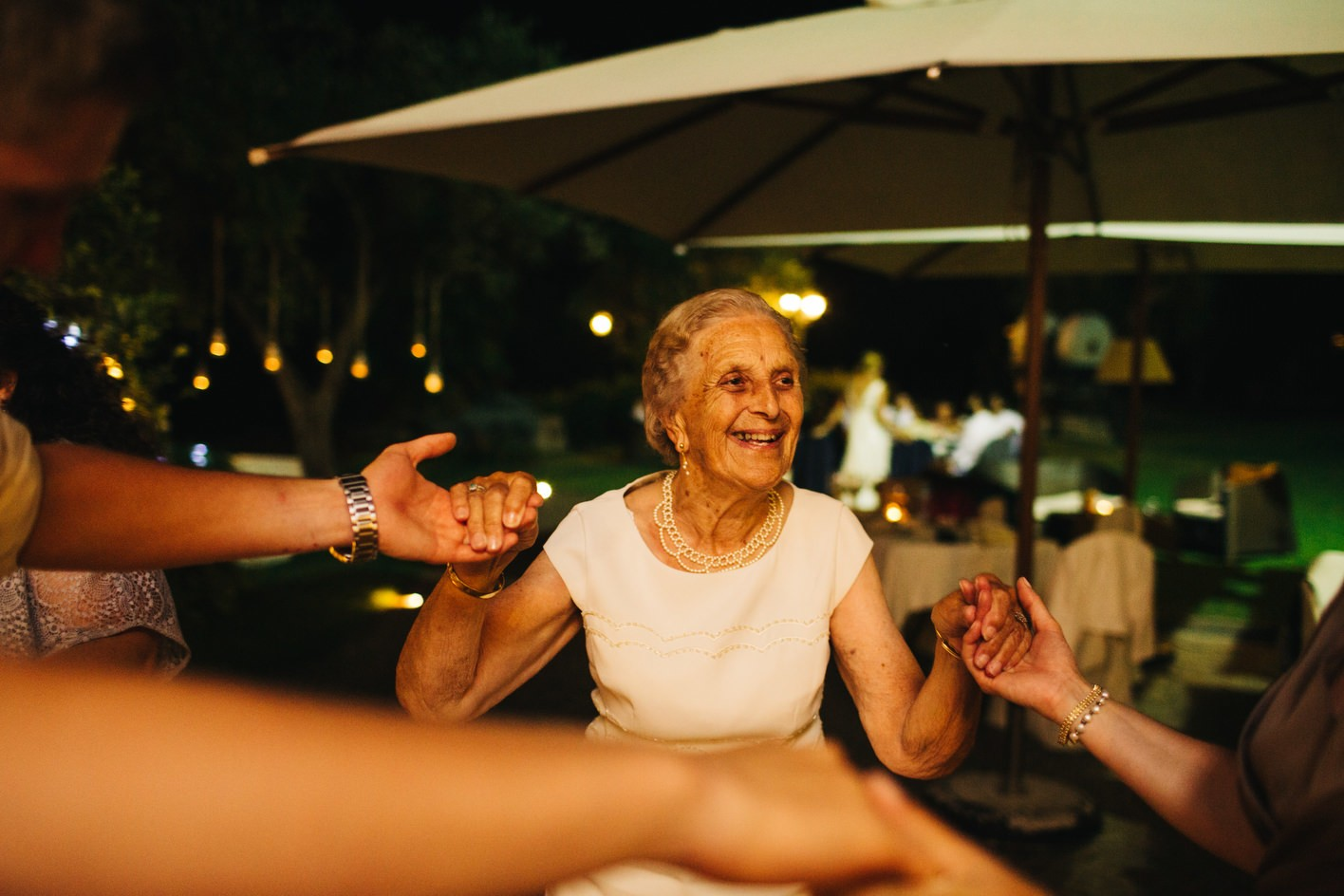 grandma on the dancefloor