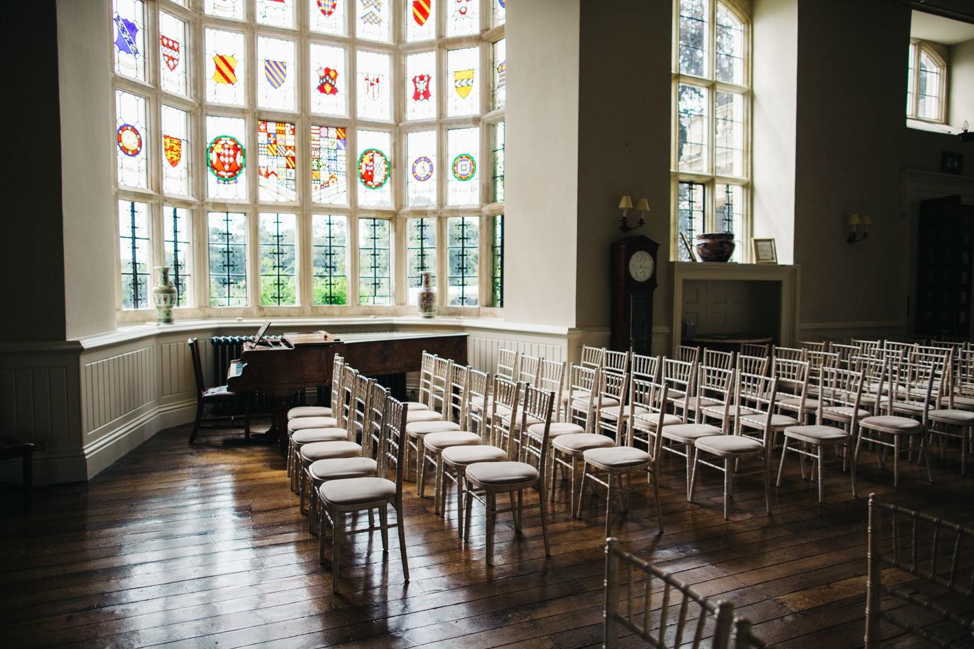 elmore court wedding ceremony room