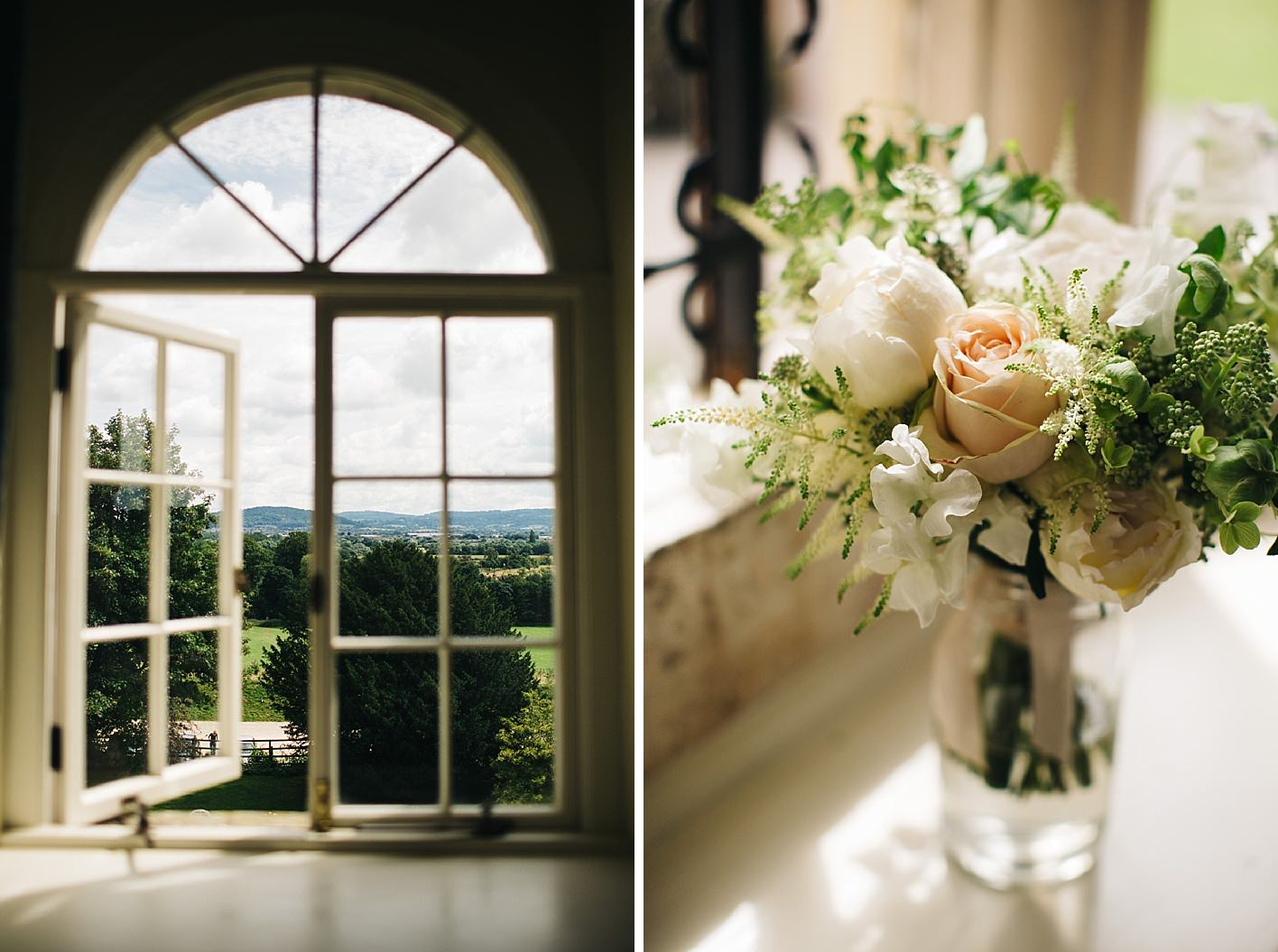 Wedding Bouquet at cotswolds wedding