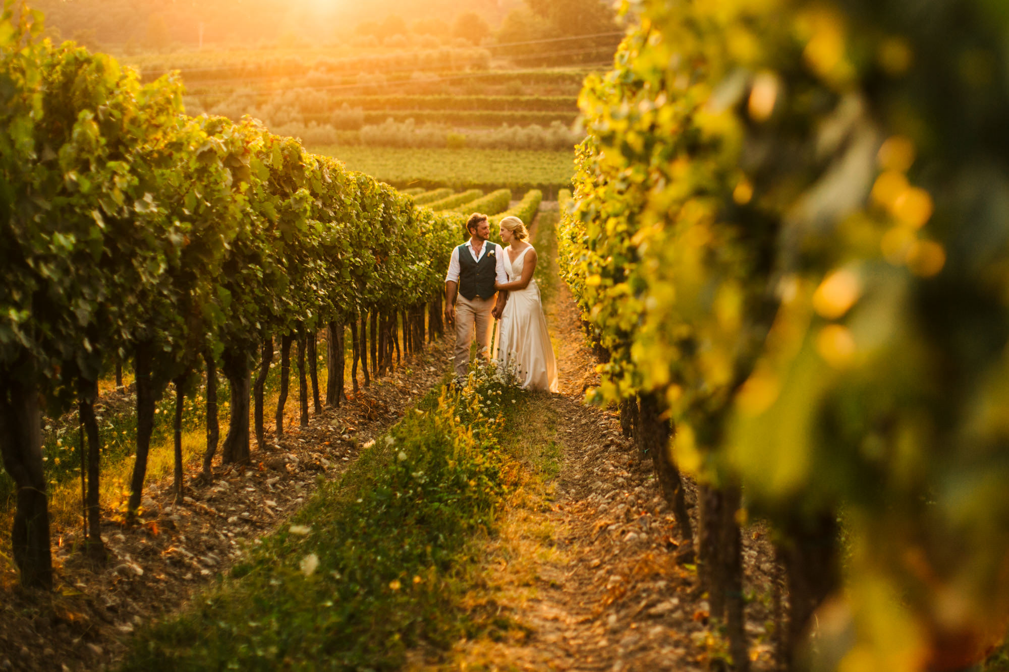Vineyard Wedding Italy