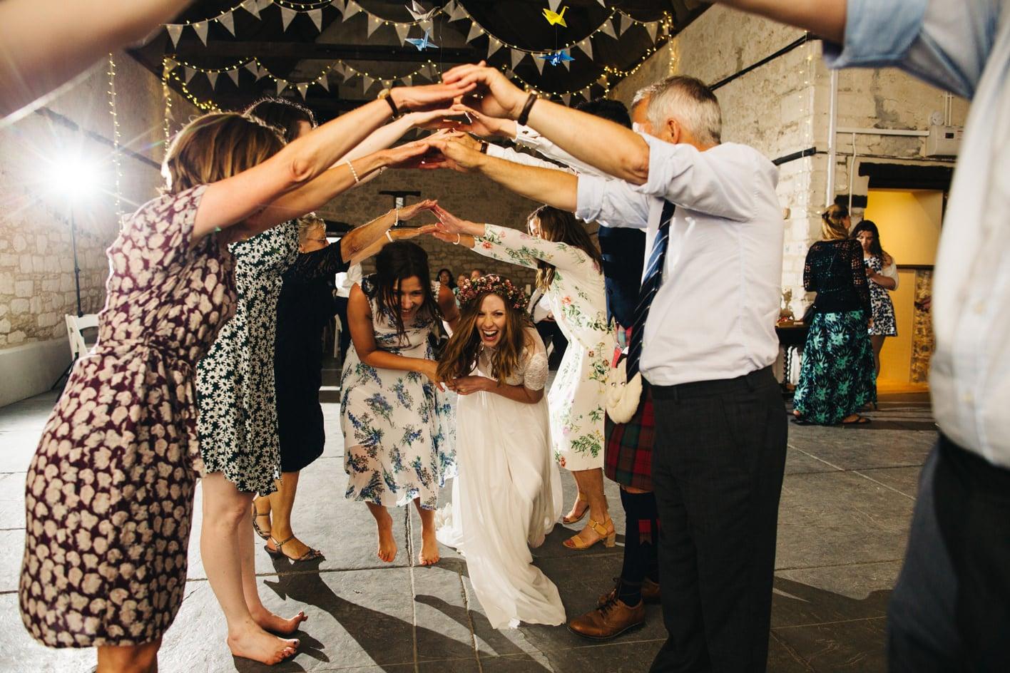 ceilidh at wedding