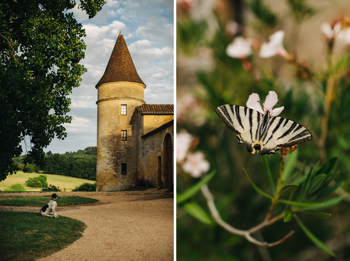 french wedding chateau de la bourlie dordogne 002