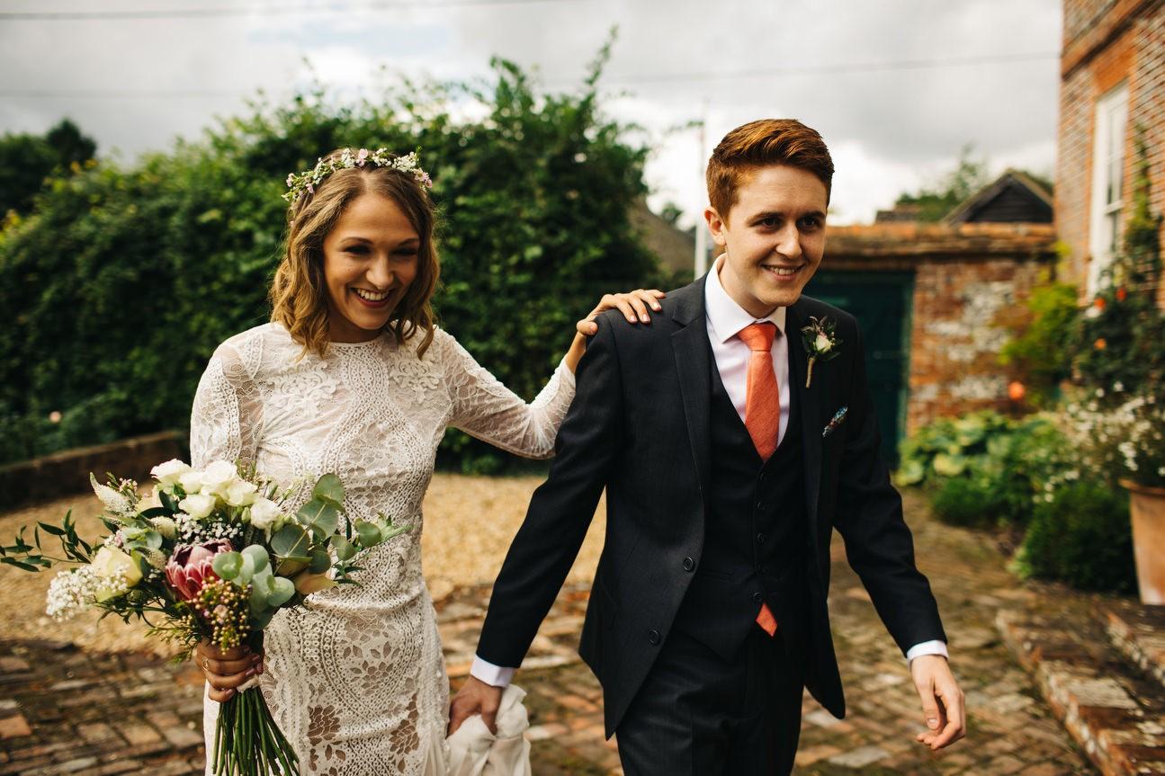 Hampshire Barn wedding in ibthorpe 036
