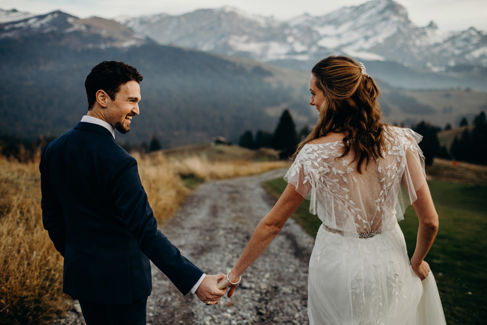 Swiss Alps Wedding