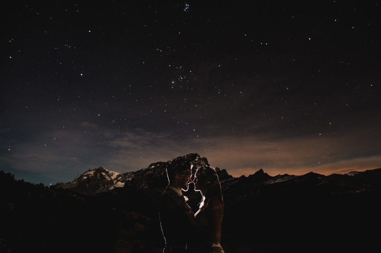 Stars and mountain portrait richard skins