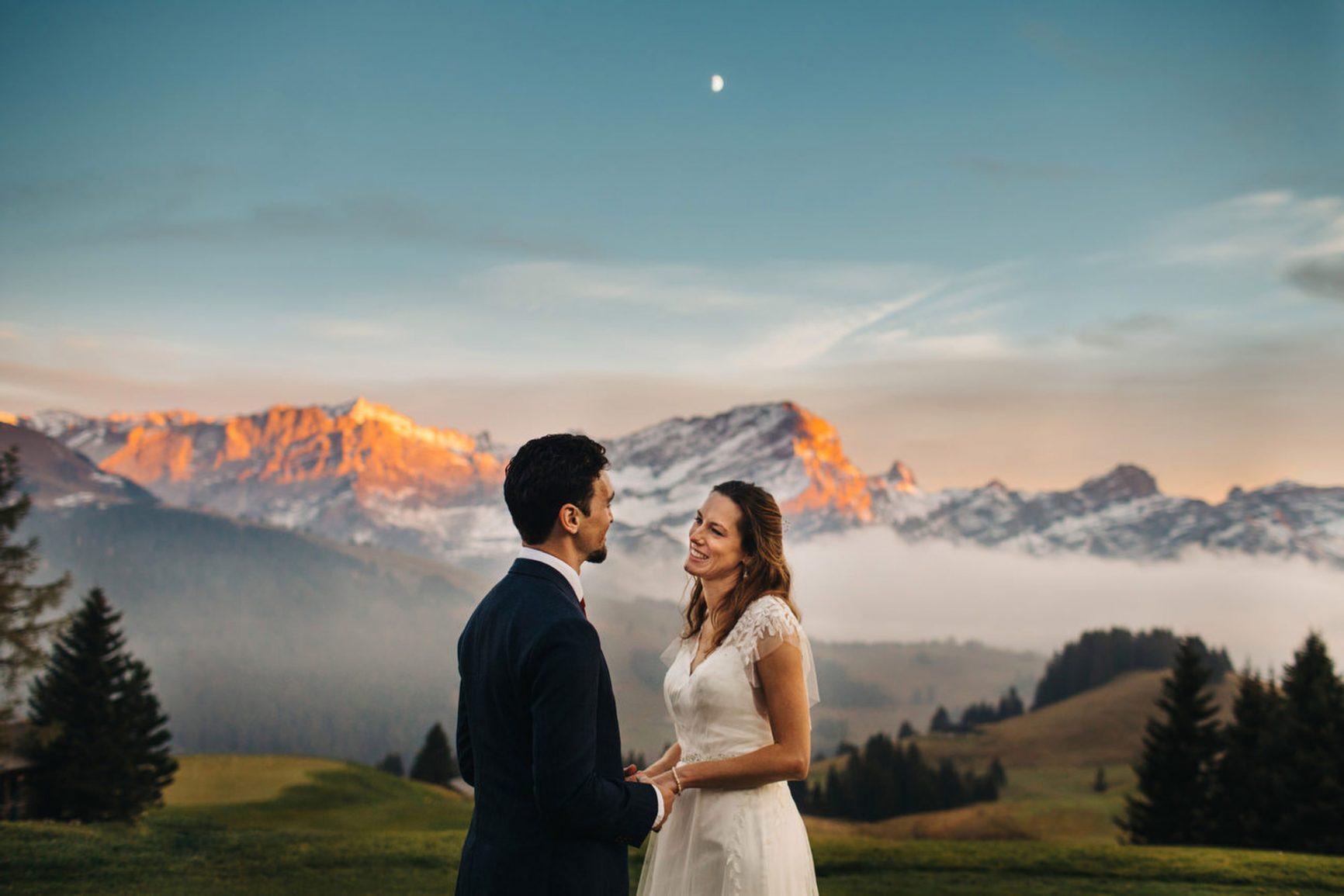 Alps Wedding