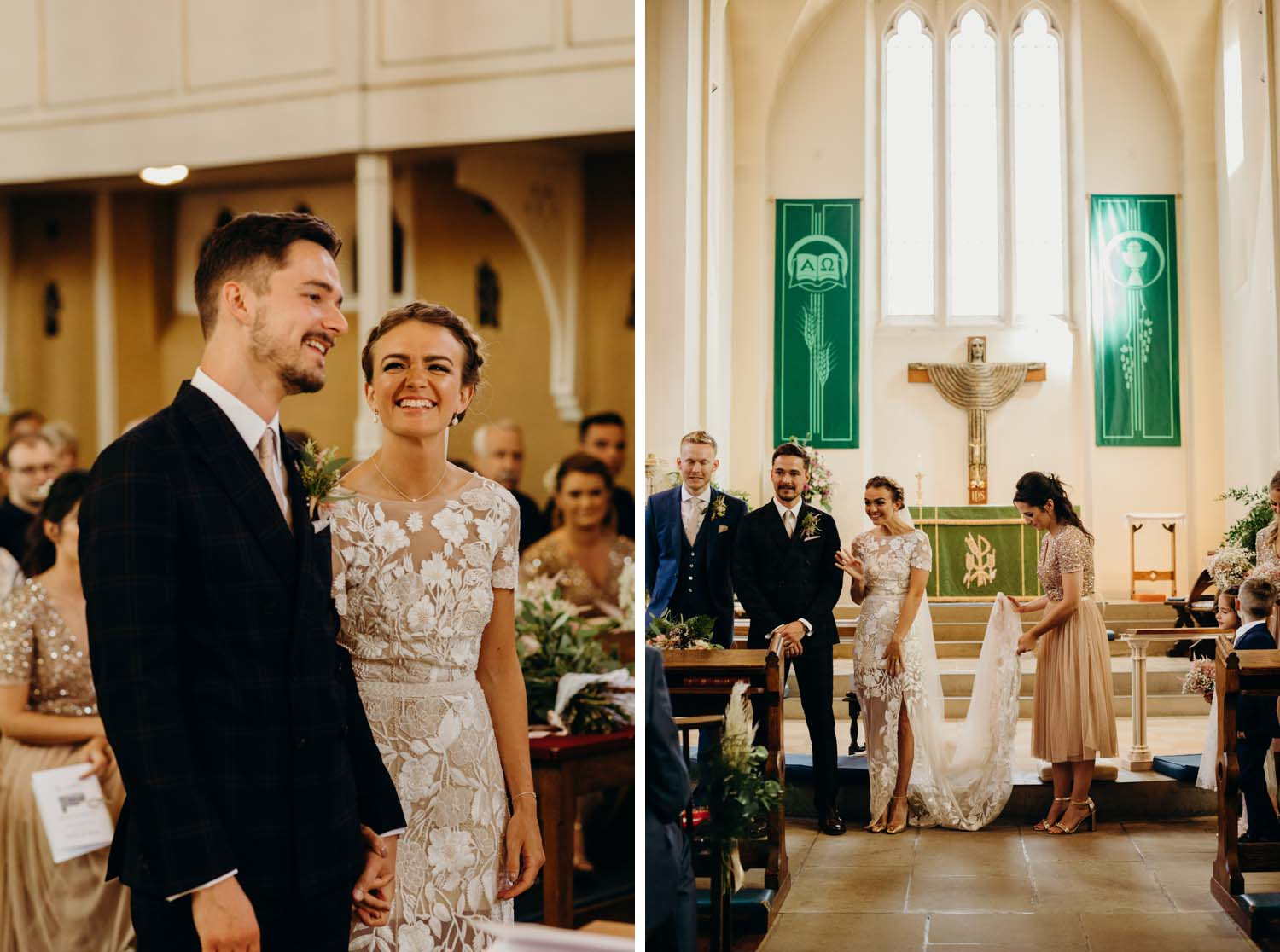 Church wedding in Buckinghamshire
