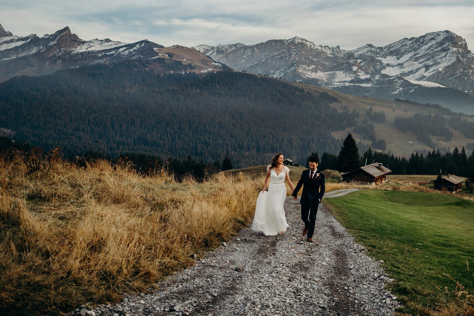 Swiss Alps Wedding