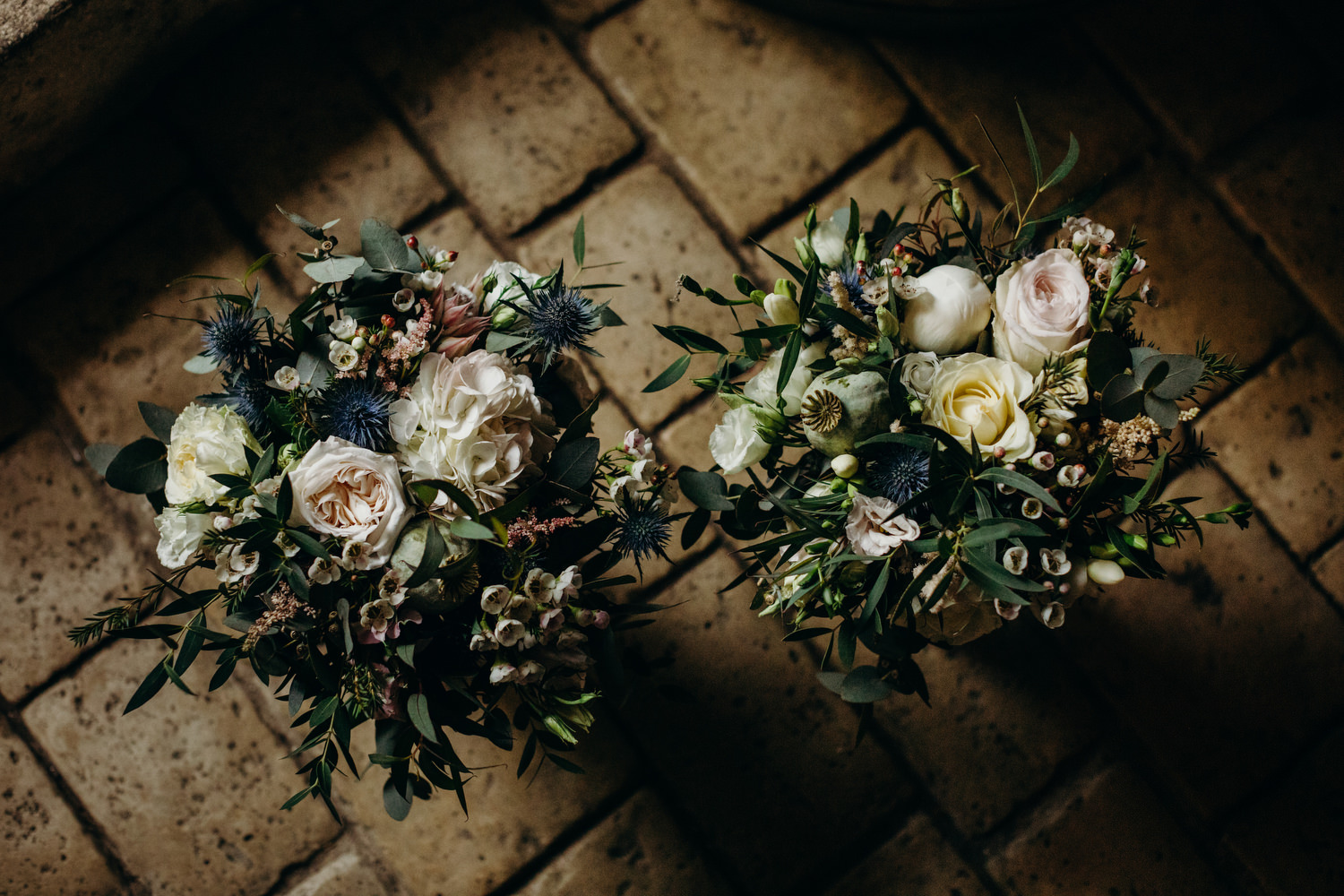 wedding bouquets by Aurelié Magné