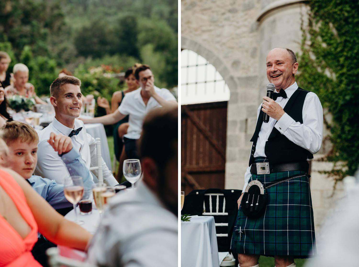 Father of groom speech