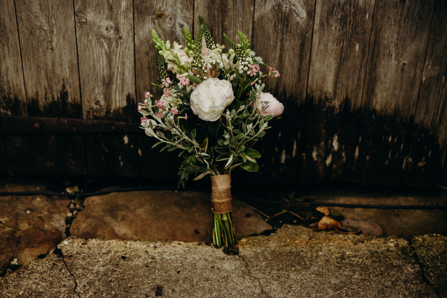 wedding bouquet by Hedge Rose Florist