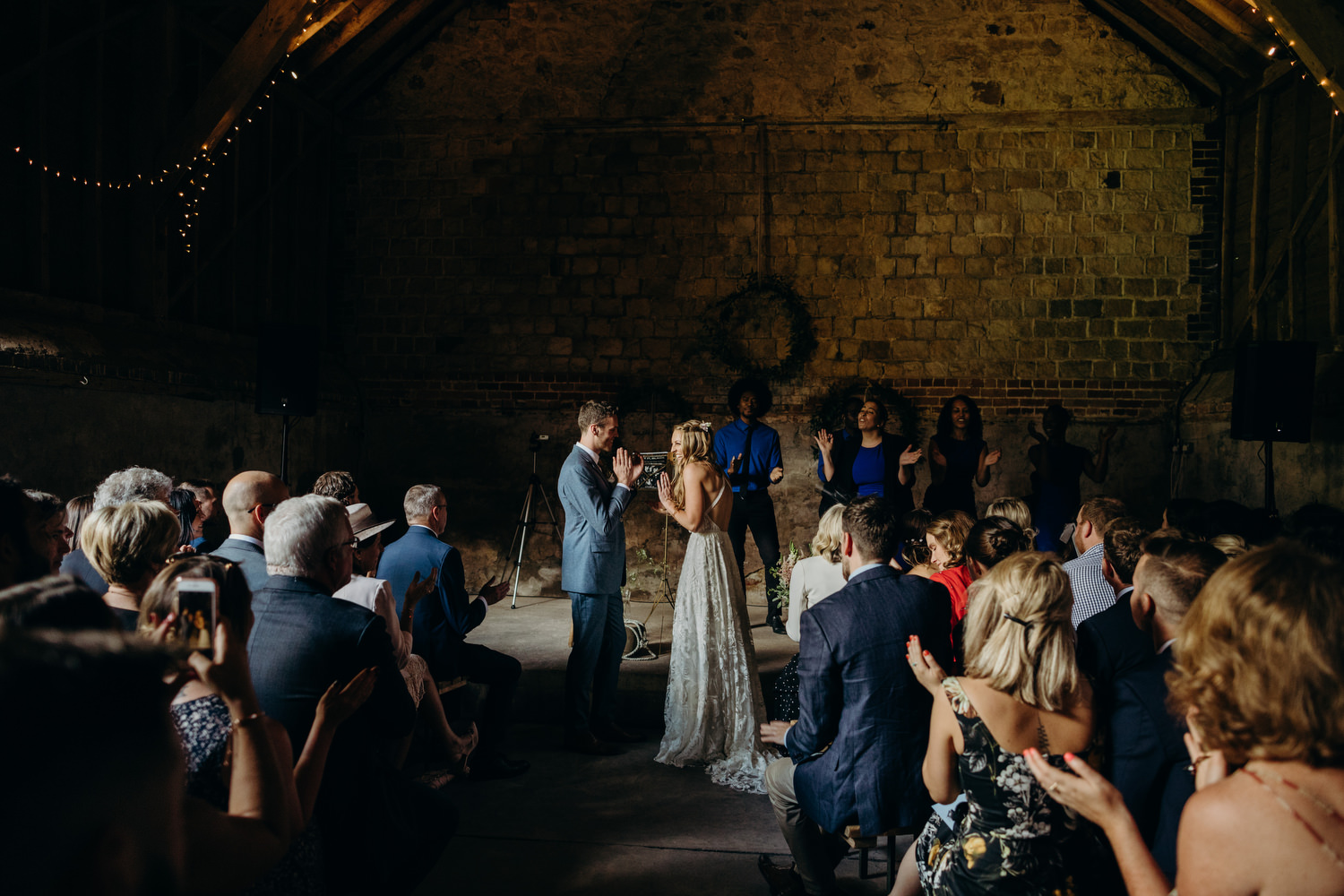 wicks bottom barn ceremony