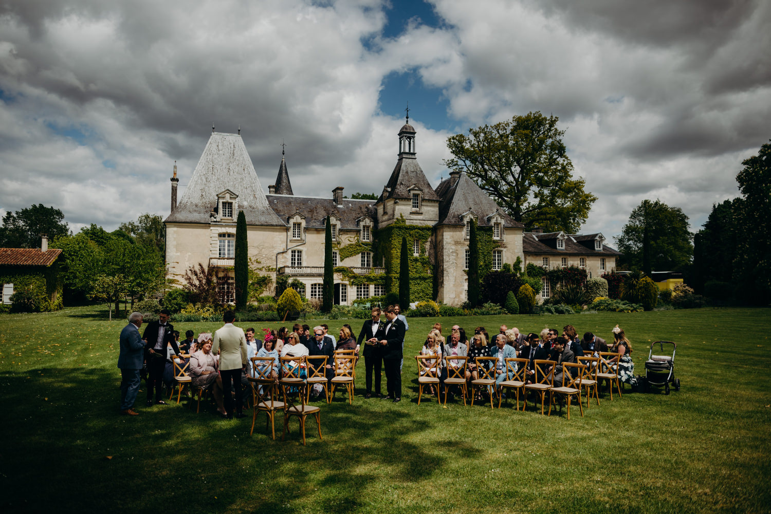 outdoor France wedding