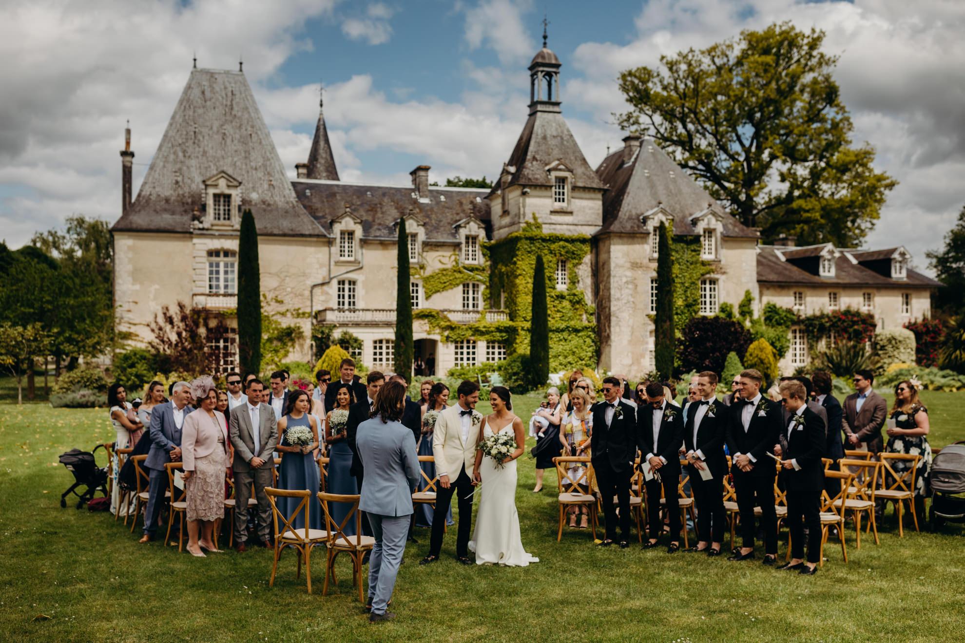 Le mas de montet wedding