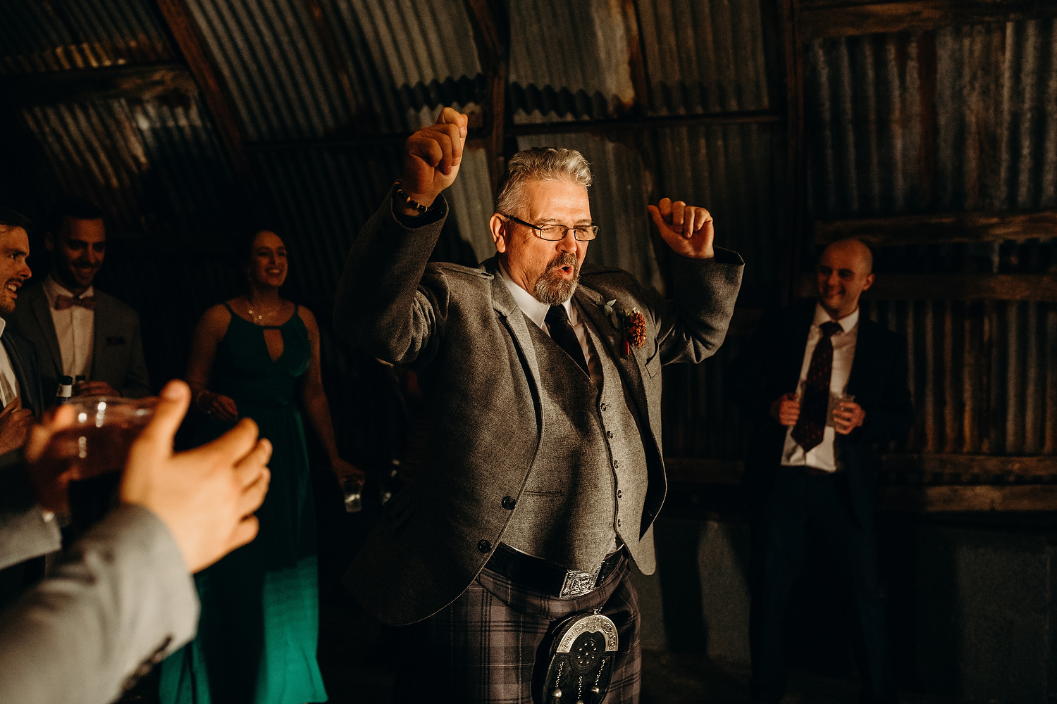 father of bride dancing