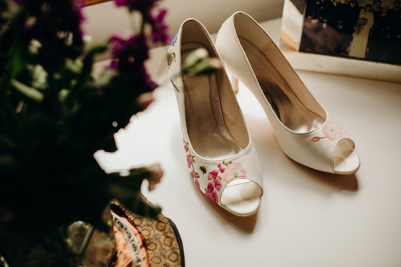 wedding shoes by Elizabeth Rose London