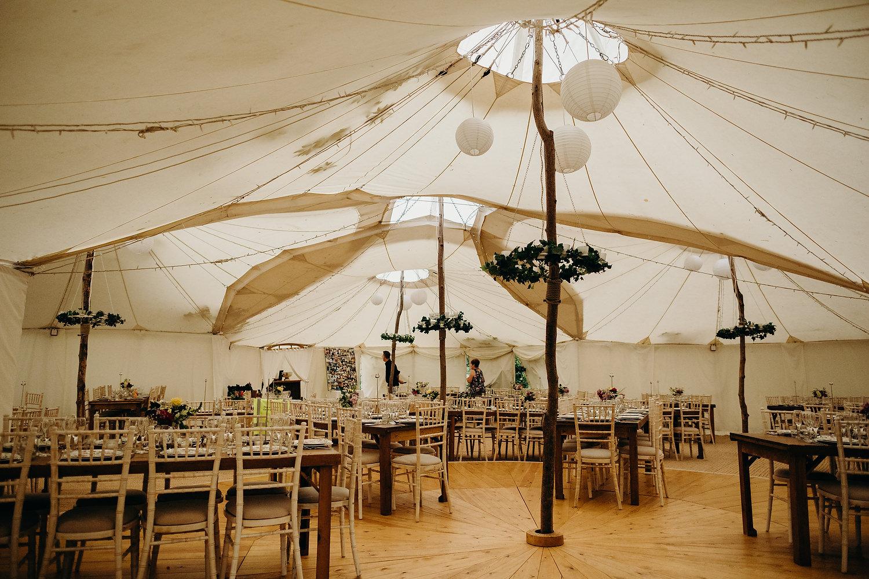 garden marquee wedding in Malvern
