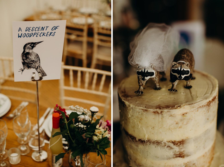 animal themed wedding