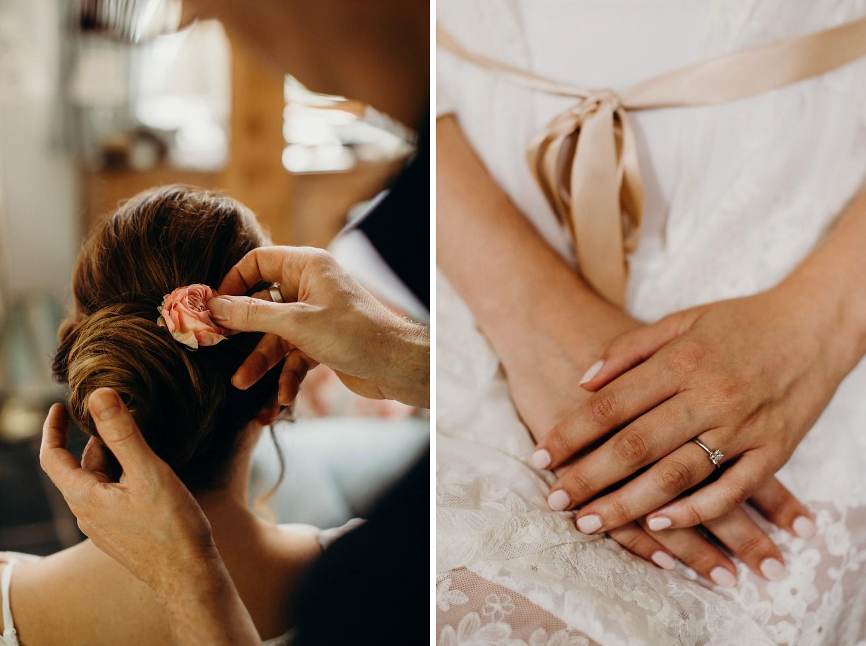 Chris Fordham wedding hair