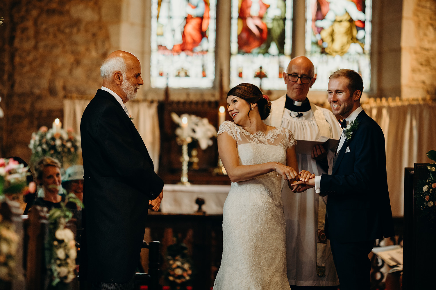 church wedding in Worcestershire