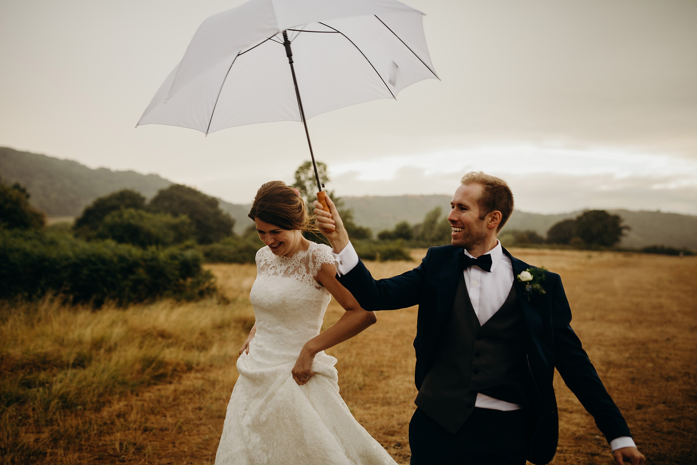 rain at your wedding