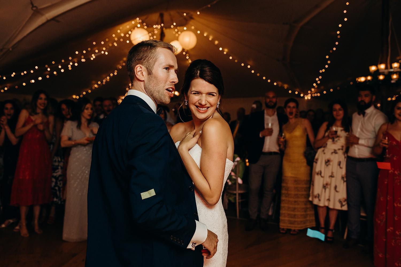 first dance at Malvern wedding