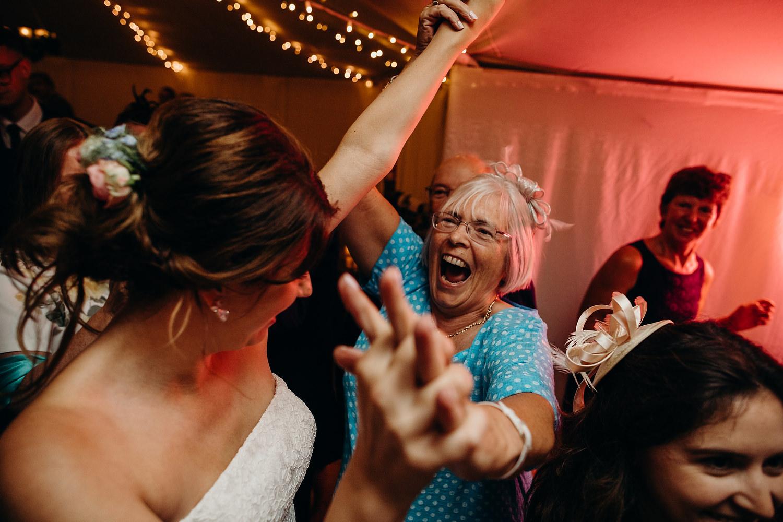 fun wedding dancefloor