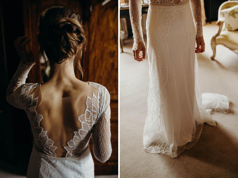 Bride with Anna Kara dress