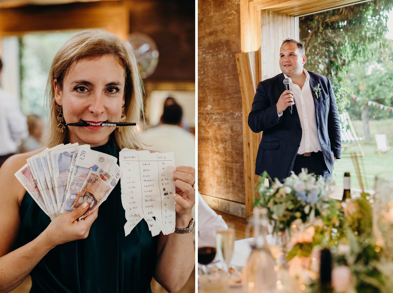 wedding speech bets