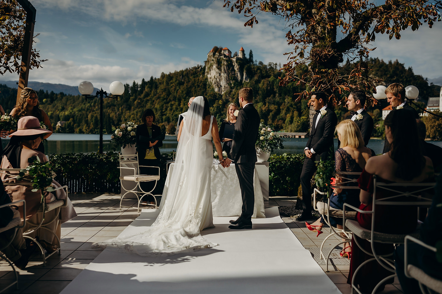 Lake Wedding in Slovenia