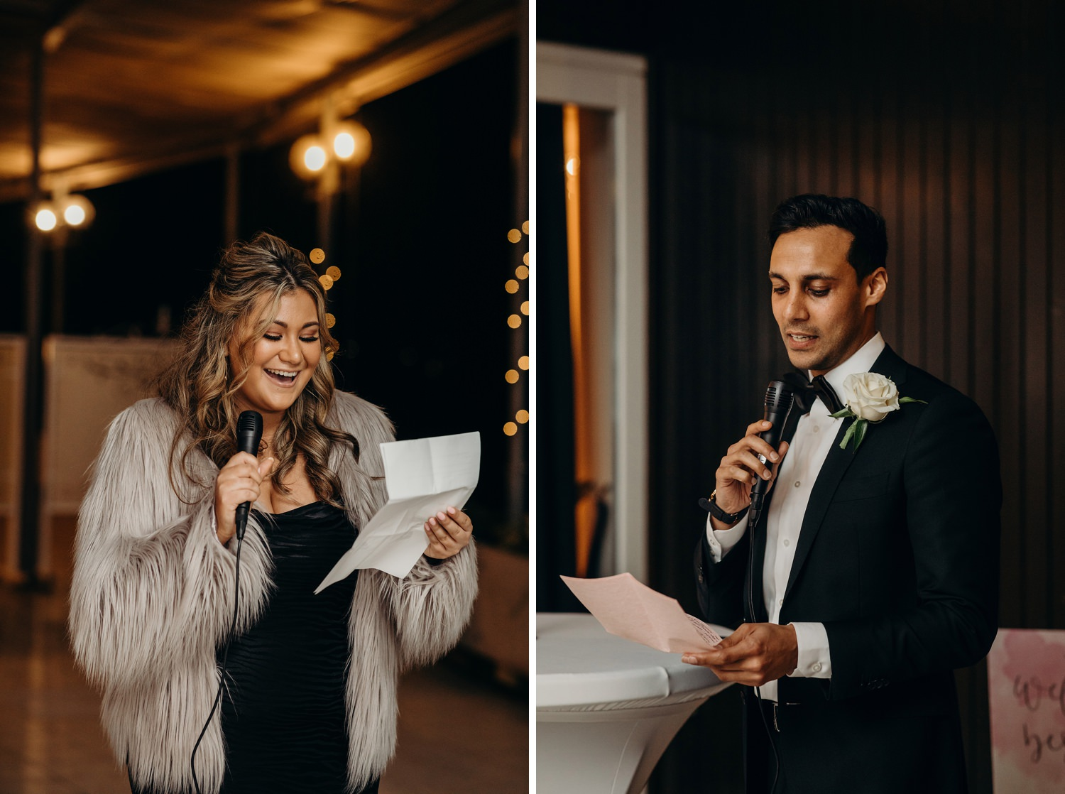 best man and woman speeches