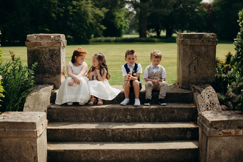 St Giles House Wedding Wimborne Dorset 068