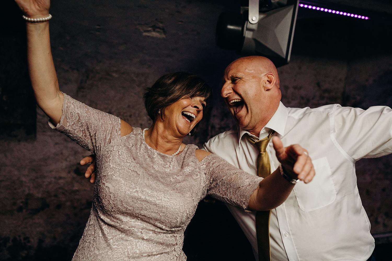 parents party at Dorset wedding