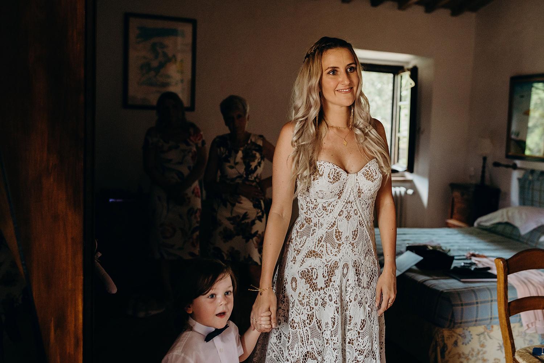 Tuscan Villa Wedding Fattoria La Loggia 023