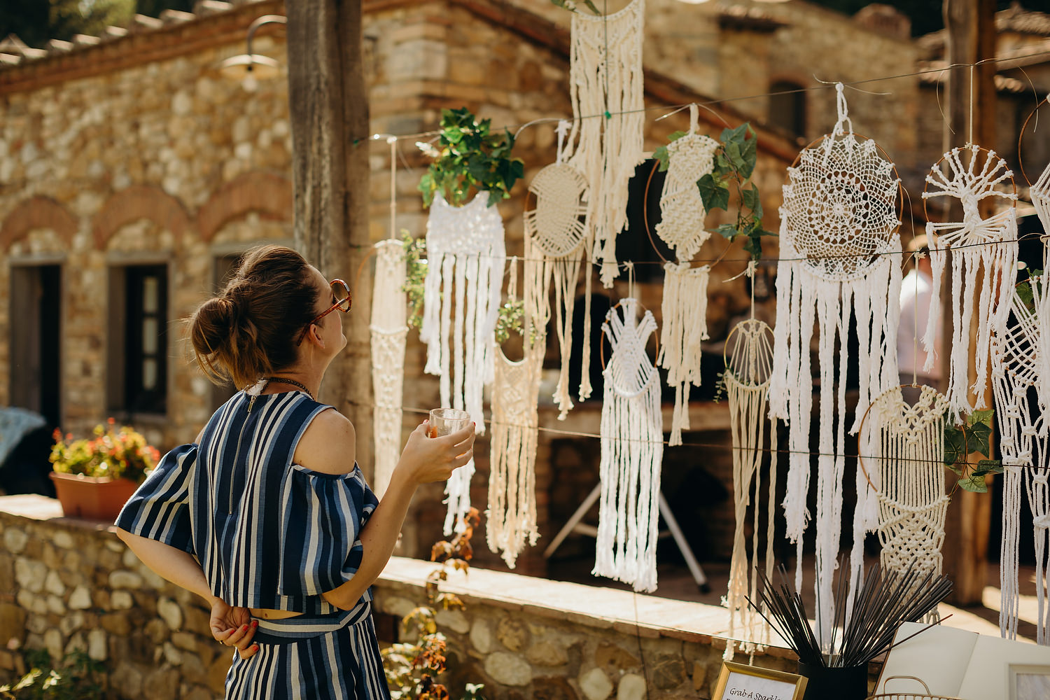 Handmade Macramé for wedding