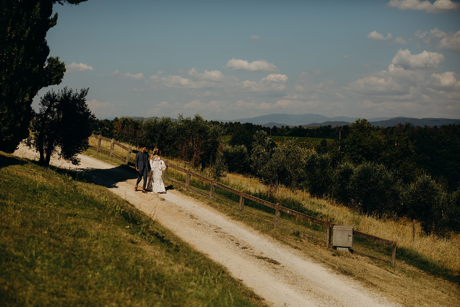 Italy wedding landscape