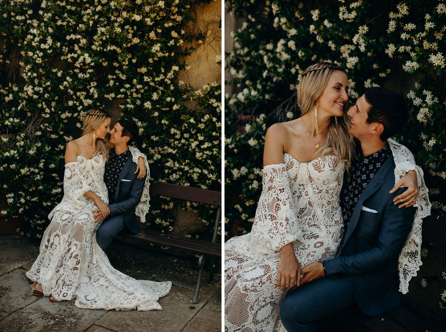 Portraits at Fattoria La Loggia Wedding Venue